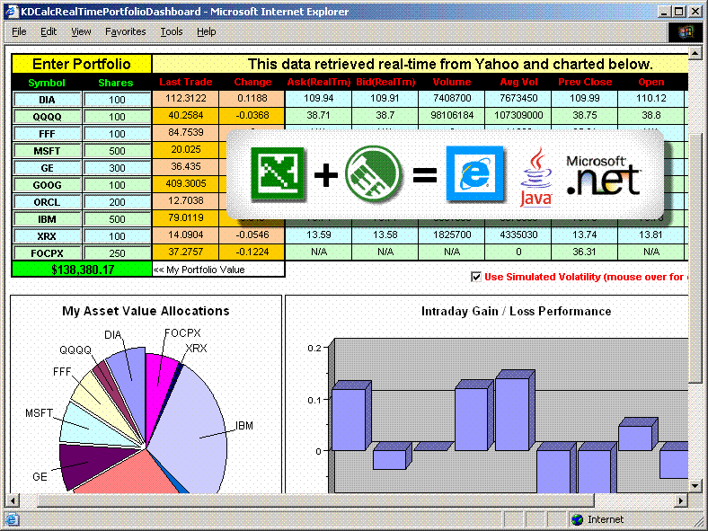 Screenshot of KDCalc