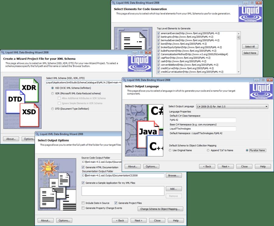 Screenshot of Liquid XML Studio Developer Pro - Concurrent Licenses