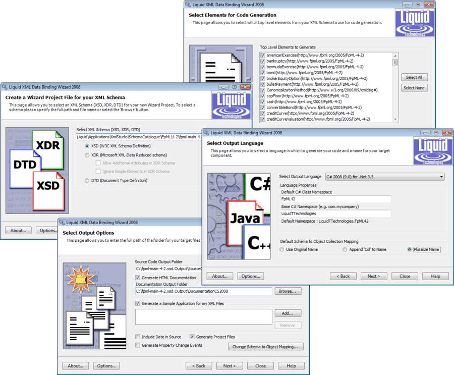 Screenshot of Liquid XML Studio Developer Pro - Concurrent Licenses