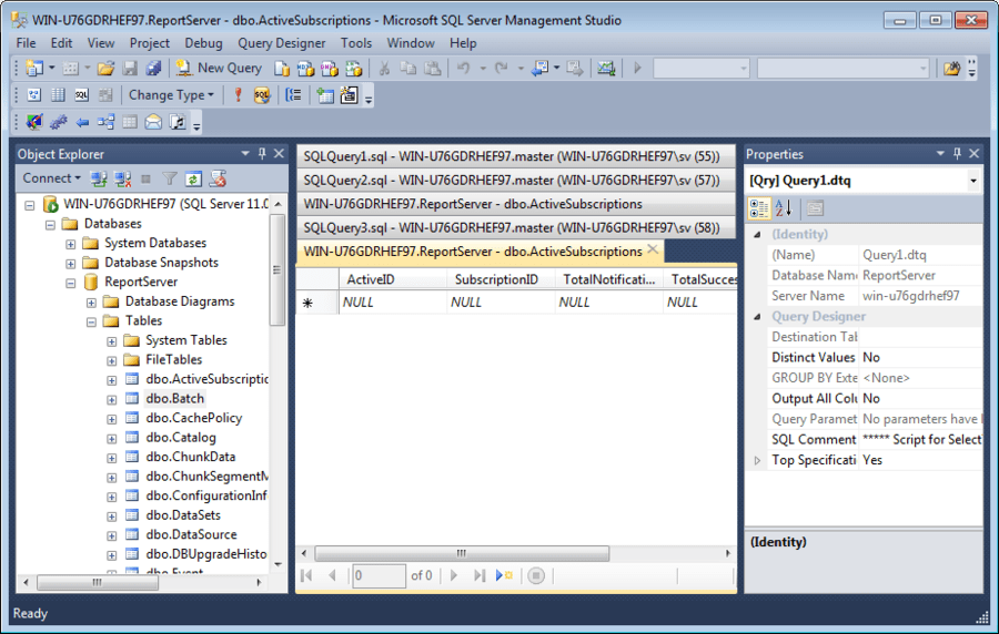 Microsoft sql server - How to find a table in sql server management studio ...