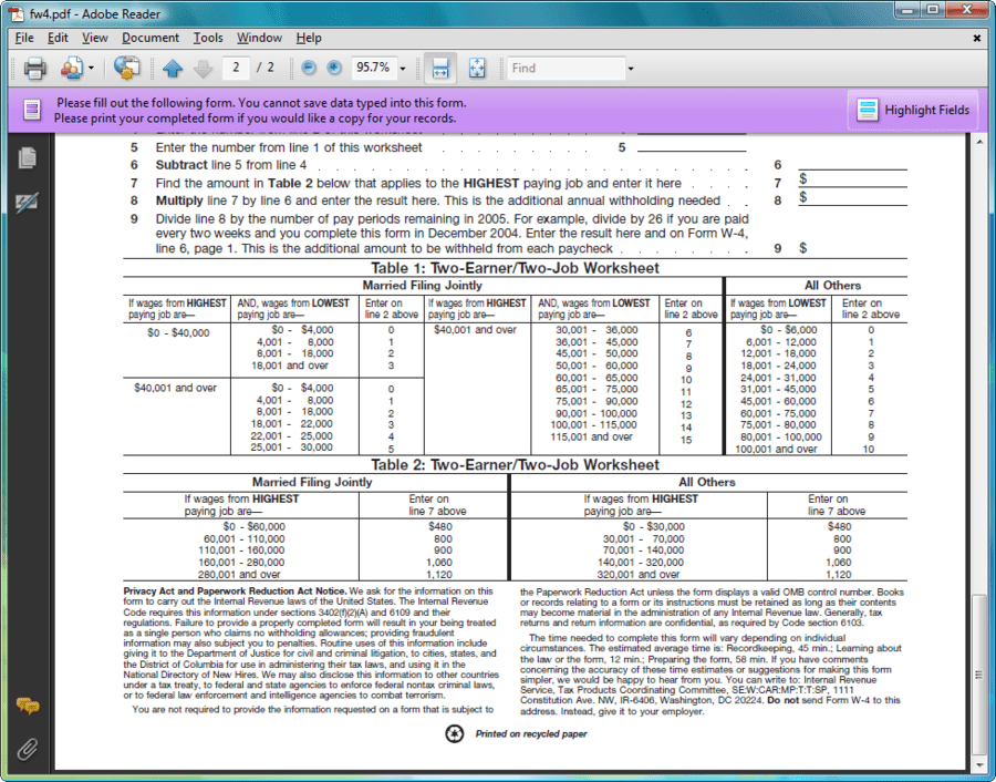 Screenshot of PDF4NET
