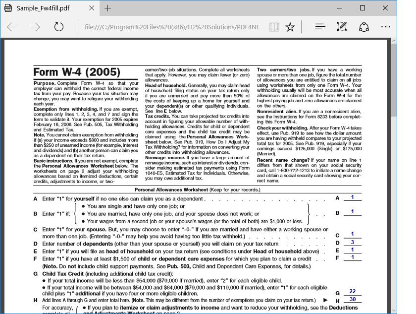 Screenshot of PDFBundle4NET (PDFView4NET WinForms Edition + PDF4NET)