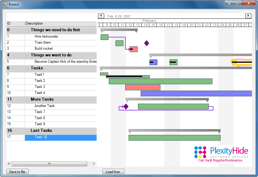 Screenshot of GTP.NET