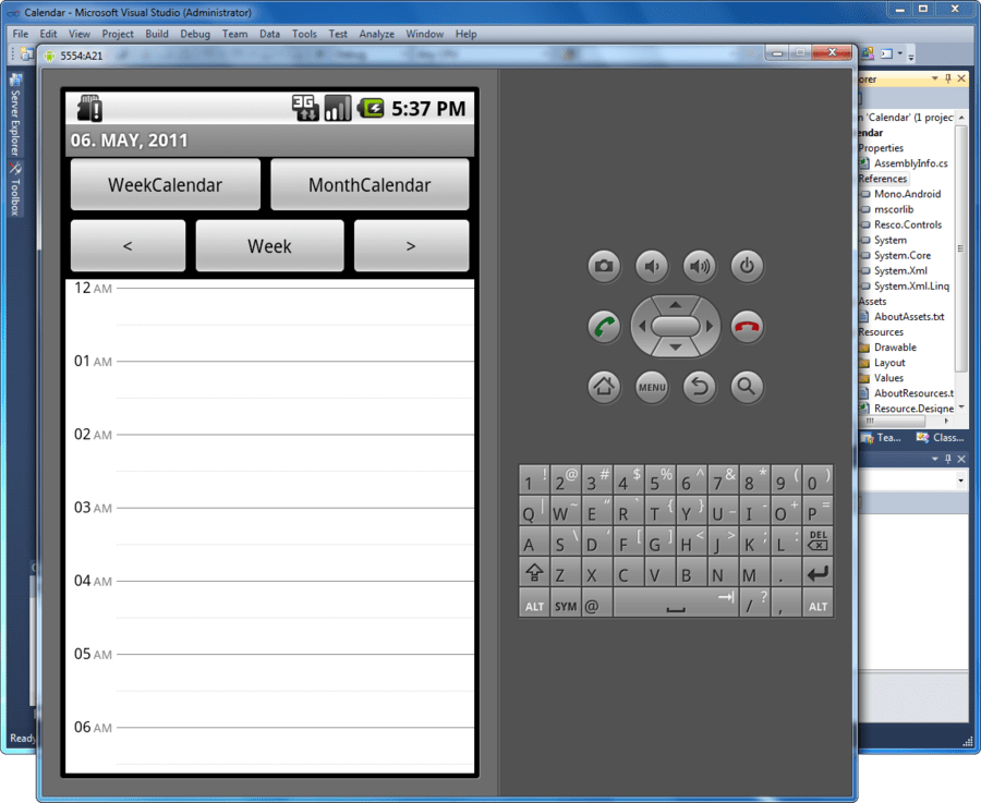 Screenshot of Resco MobileForms Toolkit Android Edition