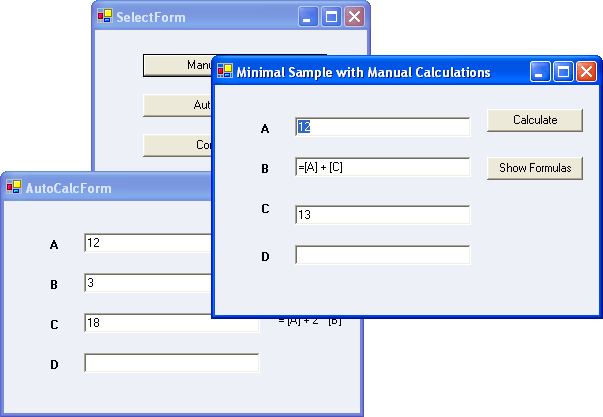 Screenshot of Syncfusion Essential Calculate