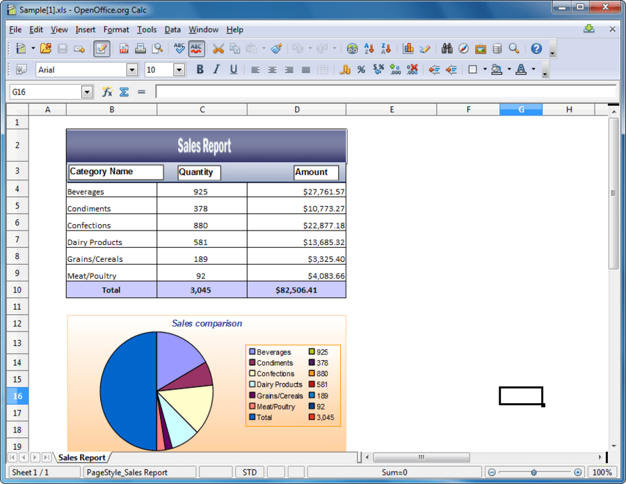 Screenshot of Syncfusion Essential XlsIO for ASP.NET