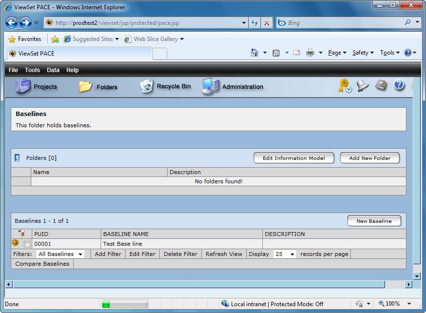 Captura de tela do PACE