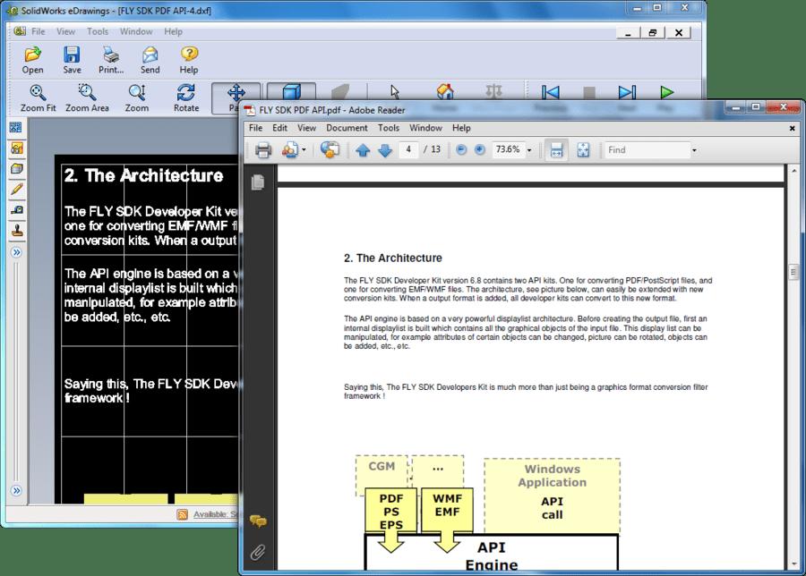 Screenshot of Visual Integrity CAD