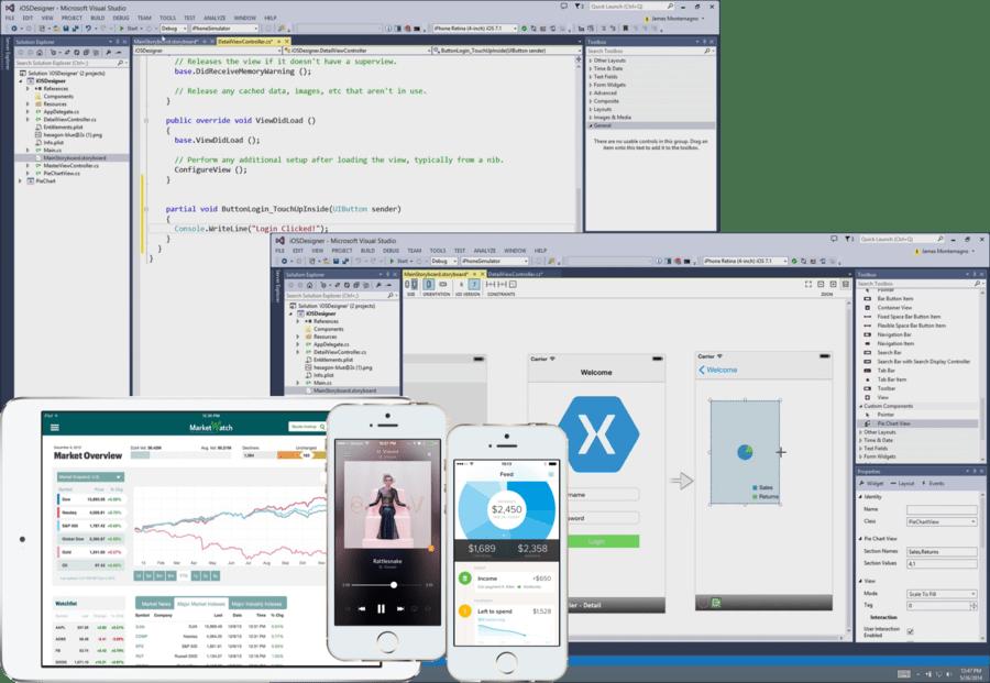 Screenshot of Xamarin.iOS