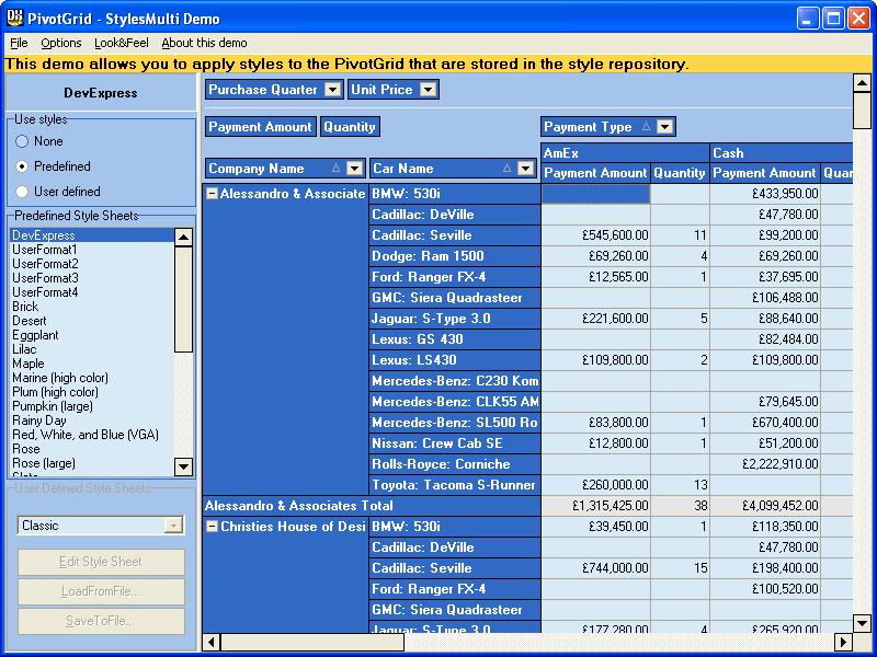 Devexpress expresspivotgrid suite v1 31 for delphi bcb full