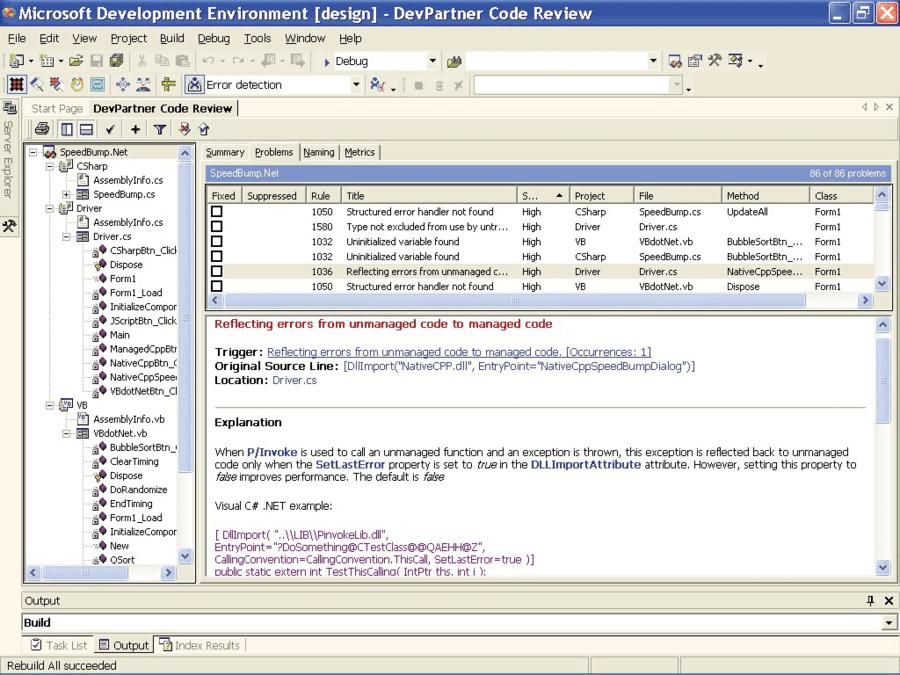 DevPartner Studio Professional Edition, Named Users