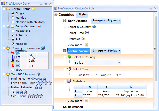 Delphi 7 treeview images - computer images using symbols and abbreviations