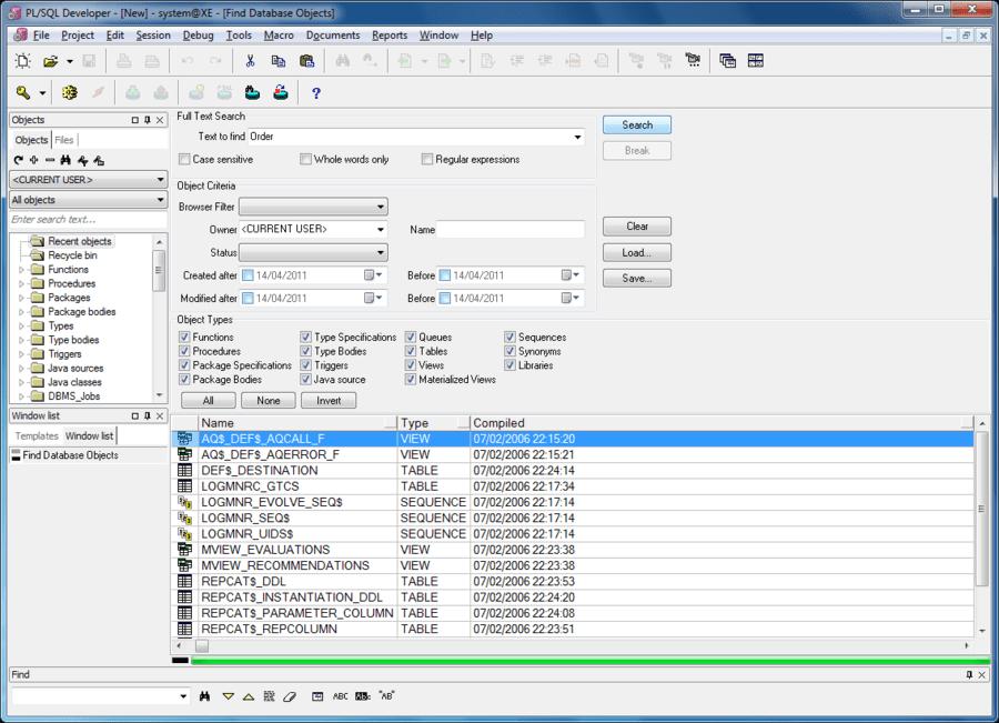 Pl sql developer adds change notification - Oracle sql developer copy table ...
