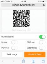 pdf417 dll barcodes - Dynamsoft Barcode Reader