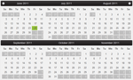 Calendar for ASP.NET Web Forms