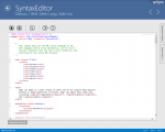 Actipro SyntaxEditor for Universal Windows released