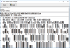 dFont Barcode Fonts for Windows - TelePen について
