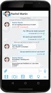 Message securely with co- workers, partners and employees.