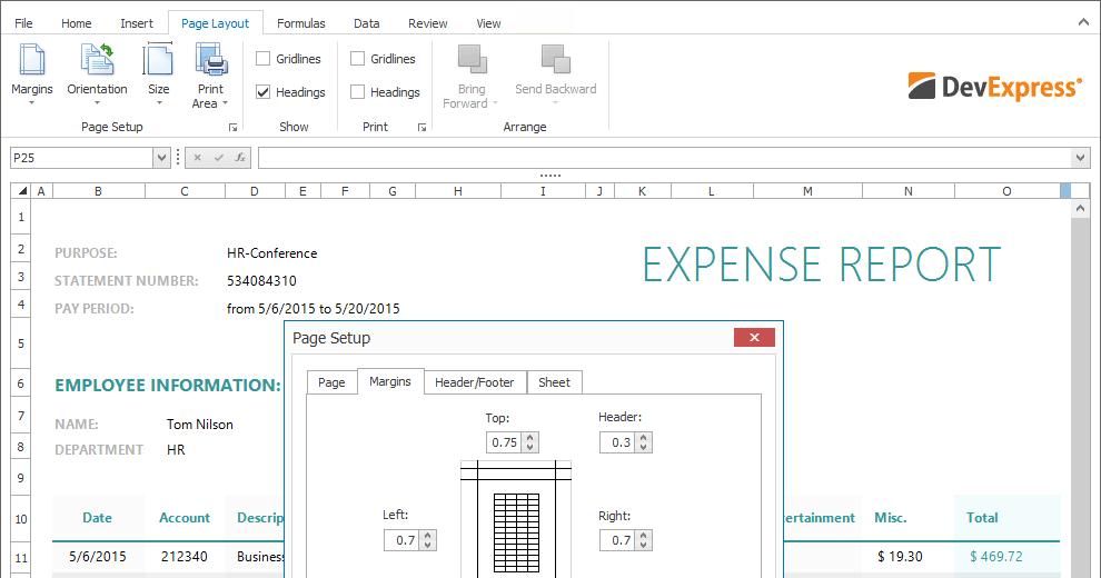 DevExpress WinForms 16 2 5