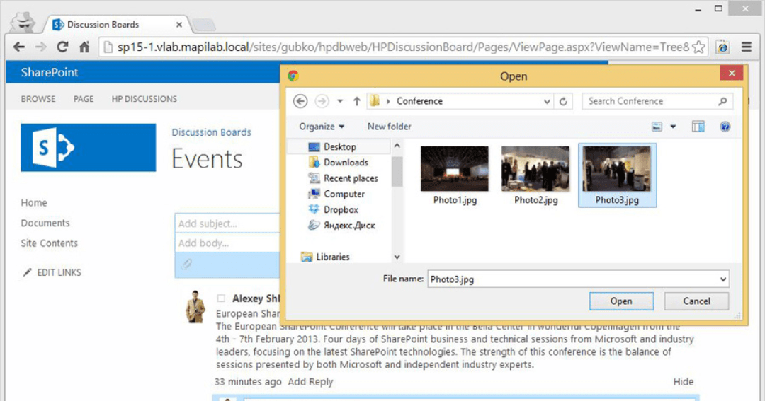 HarePoint Discussion Board for SharePoint v1 2