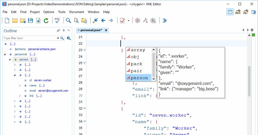 Oxygen XML Developer Professional V21 0