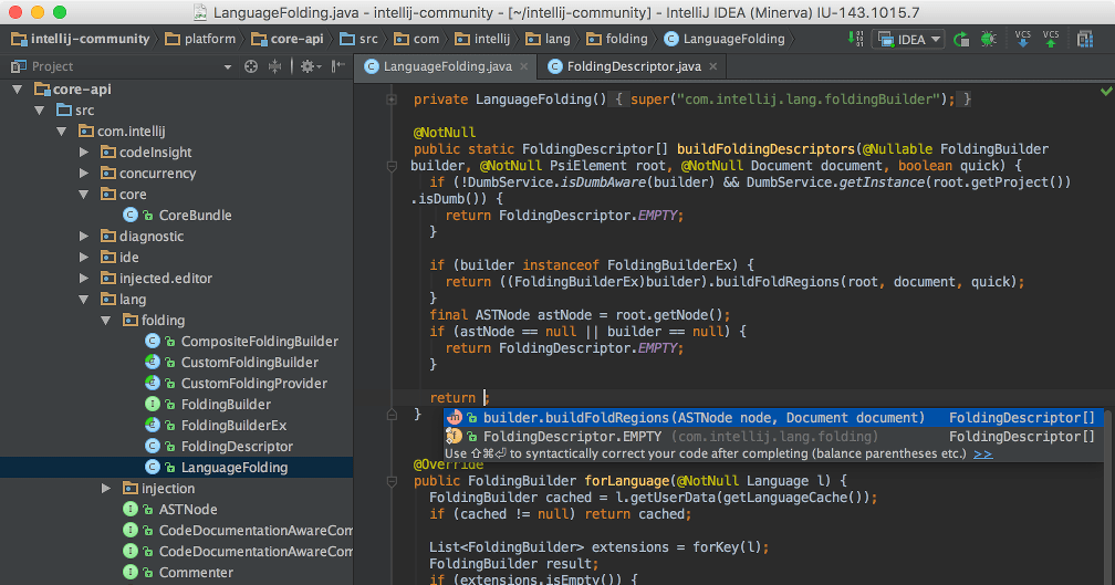 IntelliJ IDEA 2018 3 5