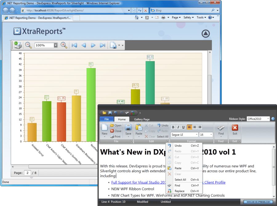 DXperience adds full VS2010 support