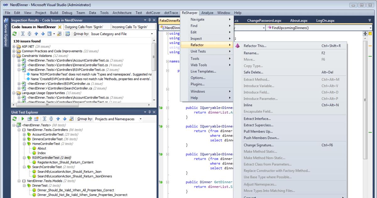 ReSharper 6 adds code analysis for VB NET