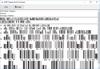 dFont Barcode Fonts for Windows - TelePen V5.6