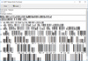 dFont Barcode Fonts for Windows - TelePen V7.1