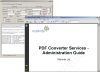 About Muhimbi PDF Converter Services: Server side PDF conversion of Office documents using Java and .NET compatible Web Services.