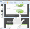 <strong>Touch gestures in the Designer for mobile devices.</strong><br /><br />