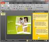 PowerPoint 2010: A sample task pane in PowerPoint 2010.