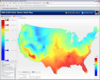 Heatmaps: IBM ILOG Elixir heatmap help you display how your data is spread over geographies or a web page for instance. Manipulate either x/y or lat/lon and see you data by density or by value.