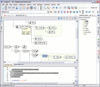 <strong>oXygen XML Editor Professional (英語版+日本語版) のスクリーンショット</strong>: All the elements from the XML Schema specification have a graphical representation. The diagram is synchronized in real time with the changes in the document and allows a quick navigation through the schema structure. <br /><br />
