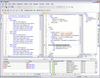 <strong>oXygen XML Editor Professional (英語版+日本語版) のスクリーンショット</strong>: Provides XQuery debugging support similar to XSLT debugging. provides a special layout when used in debugging mode to show the XML source (optional) and the XQuery documents side by side and to show also the result and special XQuery debugging views and toolbars. The perspective allows you to use the common XML and XQuery editor features. <br /><br />