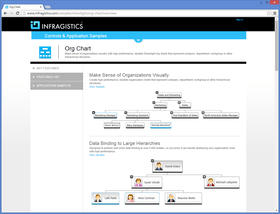 Create organizational charts in Silverlight