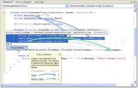 CodeRush adds IntelliRush