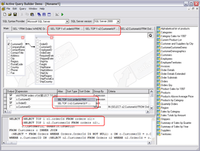 Active Query Builder ActiveX v1.25 released