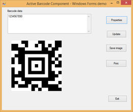 dLSoft Active Barcode Componentバージョン7.5がリリースされました