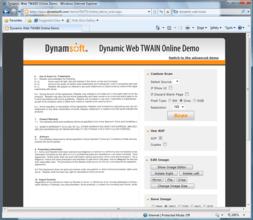 Dynamic Web TWAIN V11 released