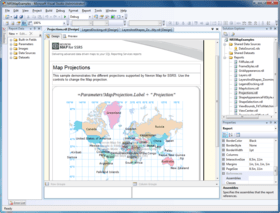 Nevron Vision for SSRS 2015.1 adds Mapping support