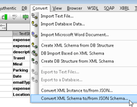Altova XMLSpy 2016 Release 2 adds Schema Conversion