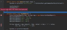 IntelliJ IDEA 2016.1 adds Source Mismatch Detection
