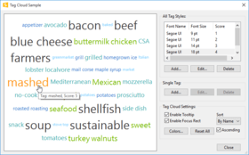 Codejock Toolkit Pro for Visual C++ v17.2 adds TagCloud Control