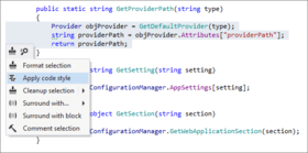 ReSharper 2016.1 improves Code Style Features