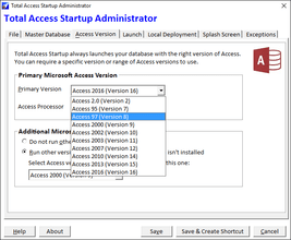 Total Access Startup 2016 released