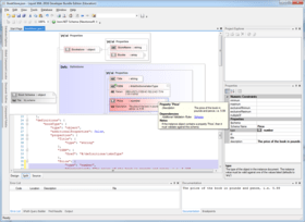 Liquid XML 2016 adds JSON Schema Editor