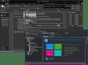 BCGControlBar Library Professional Edition MFC v25.0