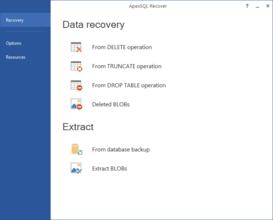 ApexSQL Recover 2016.02